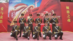 长沙新华国旗护卫队闪亮登场