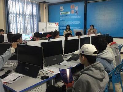 长沙新华校园招聘宣讲会之诠释网络科技